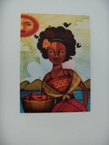 La Negrita. Cruz Martínez. Ilustración digital 2011.
